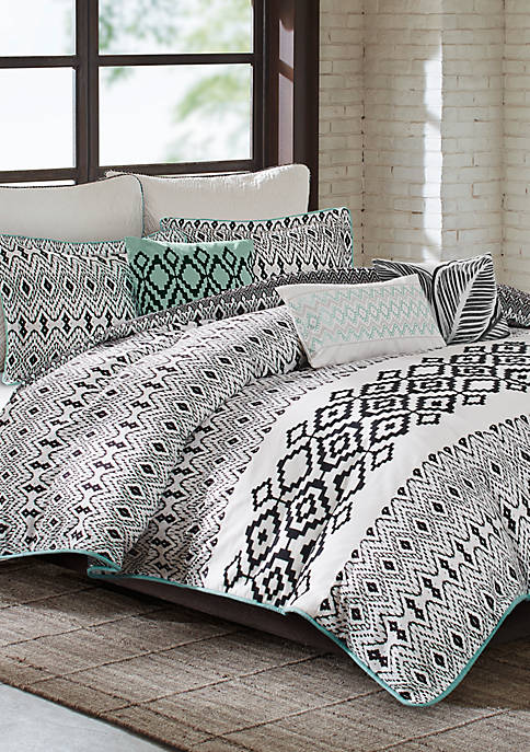 Echo Design™ Kalea Full/Queen Reversible Duvet Set 92-in.