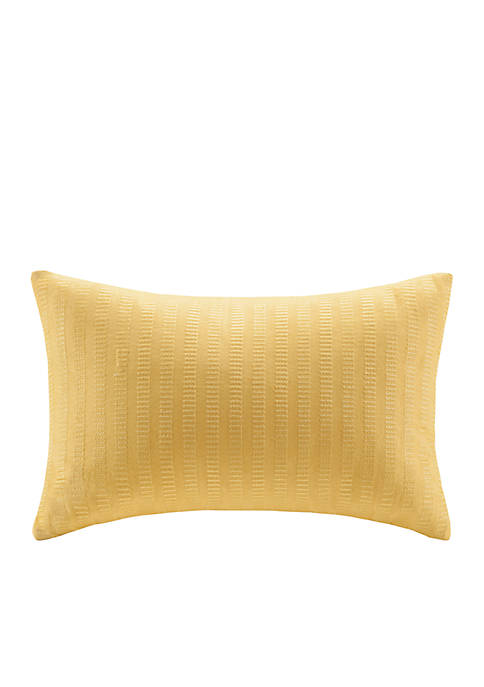 Echo Design™ Painted Paisley Yellow Oblong Pillow 12-in.