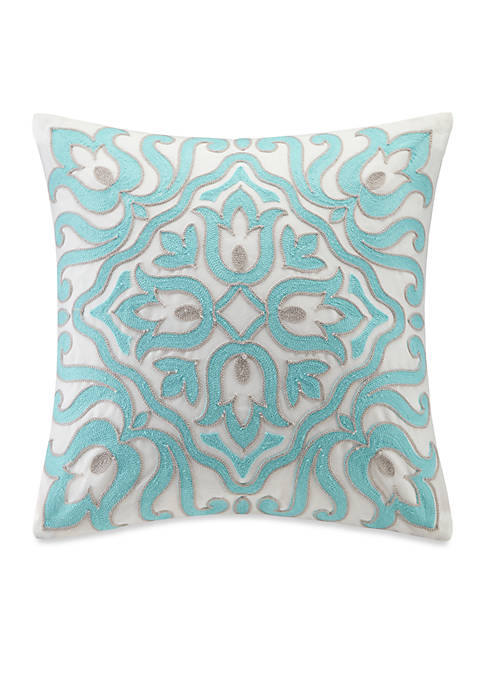 Cyprus Square Pillow