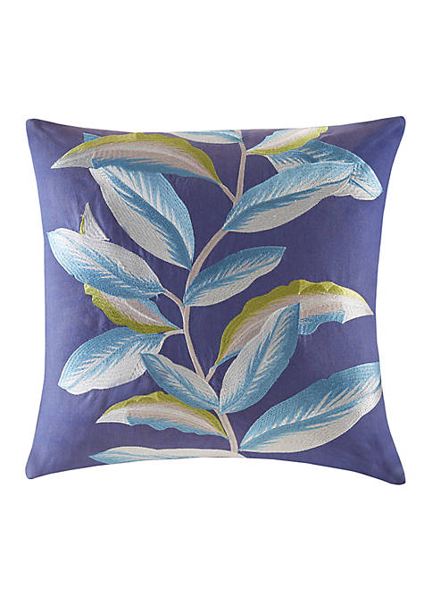 Cambon Embroidered Decorative Pillow
