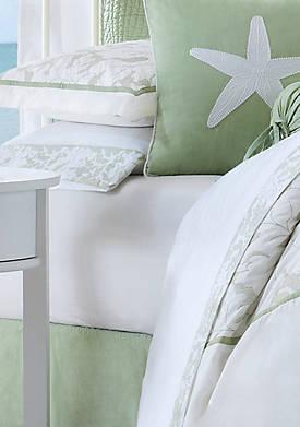 Brisbane White Queen Sheet Set