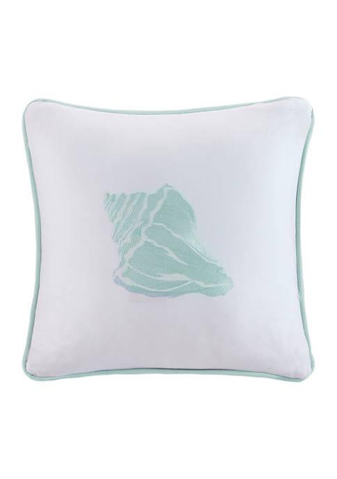 Harbor House Coastline Square Pillow
