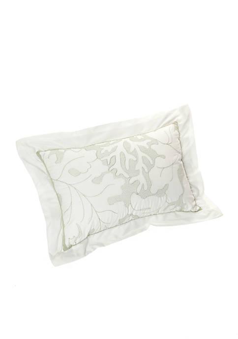 Brisbane White Oblong Pillow 12-in. x 18-in.
