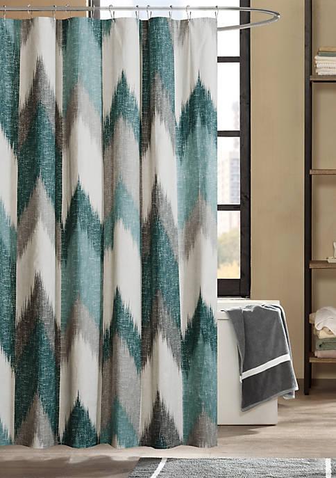 Alpine Printed Shower Curtain