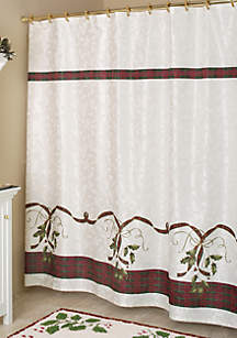 Holiday Nouveau Collection Shower Curtain