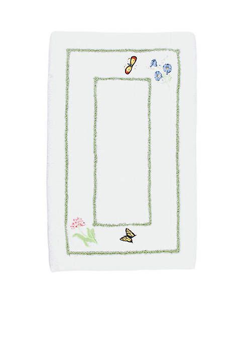 Lenox 174 Butterfly Meadow Bath Rug Belk