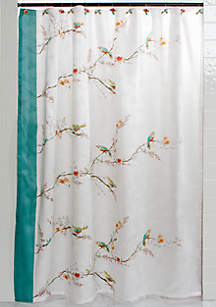 LenoxR Chirp Shower Curtain