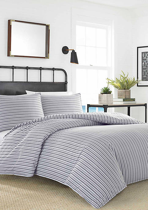 Nautica Coleridge Stripe Duvet Cover Set