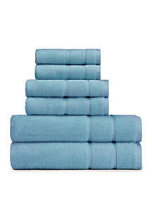 Belle Haven Reef 6 Piece Towel Set