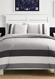 Heritage Signal Stripe Comforter Set
