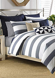 Lawndale Navy Bedding Collection - Online Only