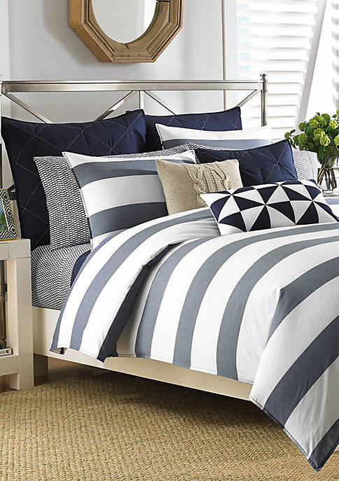 Nautica Lawndale Navy Duvet Set