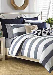 Lawndale Navy Duvet Set