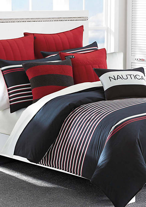 Nautica Mineola Navy Comforter Set