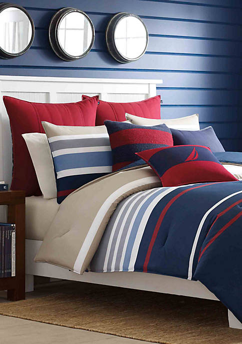 Nautica Bradford King Comforter Set 96-in. x 104-in.