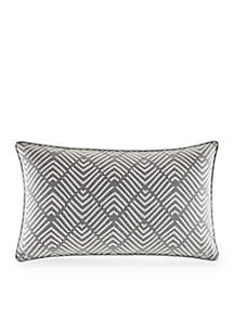 Nautica Bluffton Embroidered Decorative Pillow
