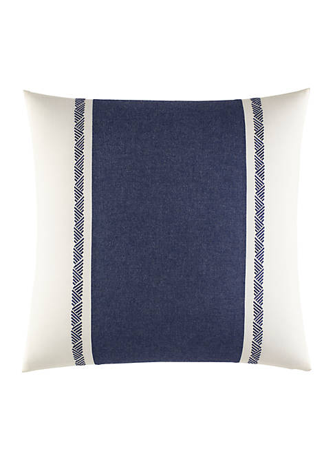 Nautica Cunningham Pieced And Quilted Decorative Pillow
