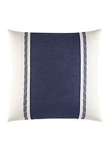 Cunningham Pieced And Quilted Decorative Pillow