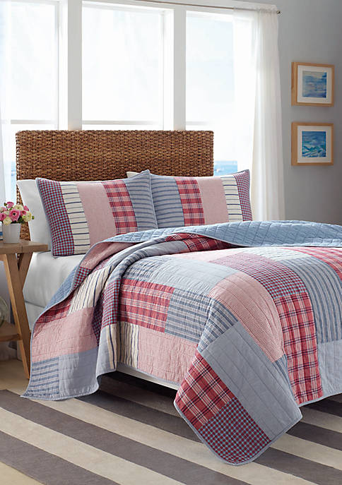 Nautica Furling Twin Quilt