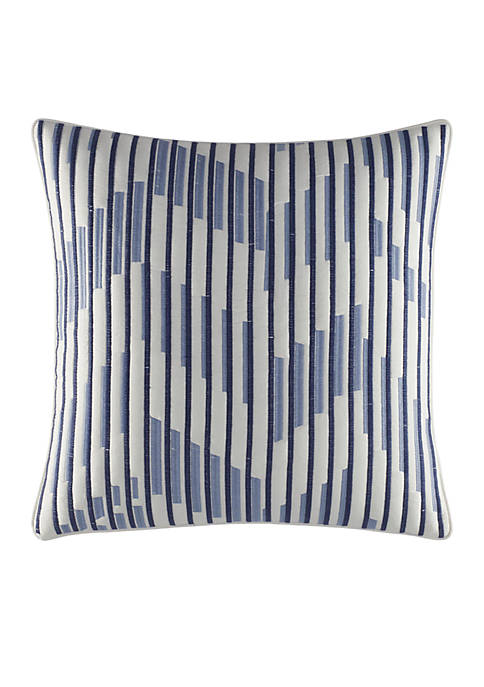 Nautica Waterbury Embroidered Throw Pillow