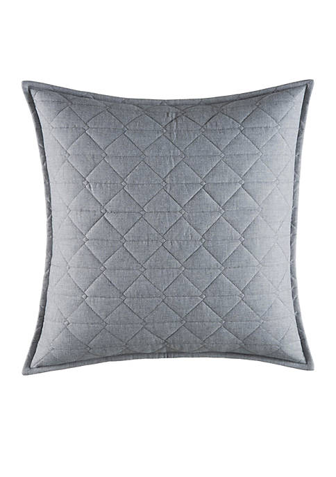 Nautica Clearview Square Quilted Throw Pillow