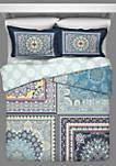 Surya 3-Piece Reversible Comforter Set