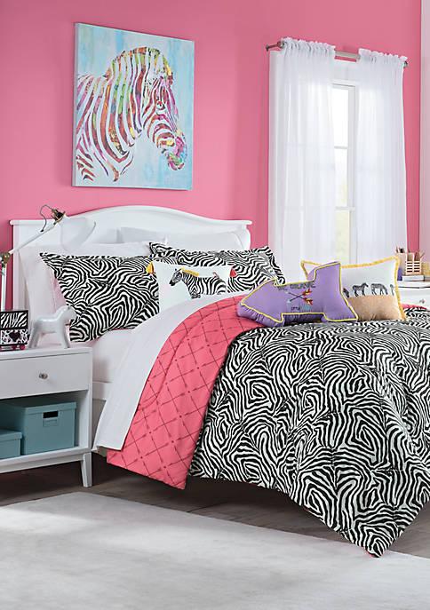 Wild Life Reversible Comforter Set