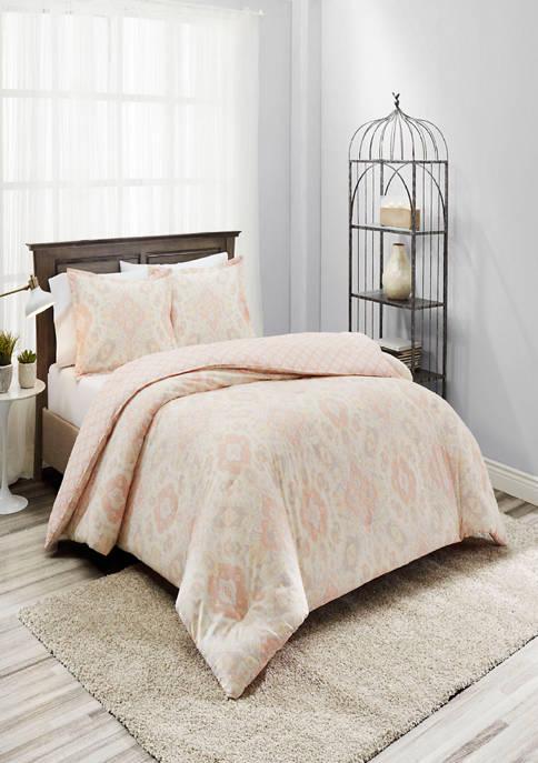 Marble Hill Ahana Reversible 3-Piece Comforter Set