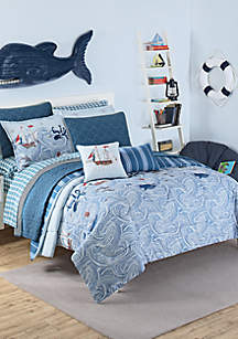 Waverly Kids Ride the Waves Bedding Collection