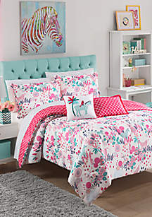 Waverly Kids Reverie Reversible Bedding Collection