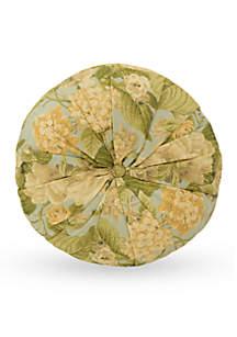 Garden Glory Round Decorative Pillow