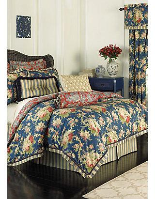 waverly vintage rose full comforter