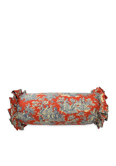 Sanctuary Rose Neckroll Throw Pillow