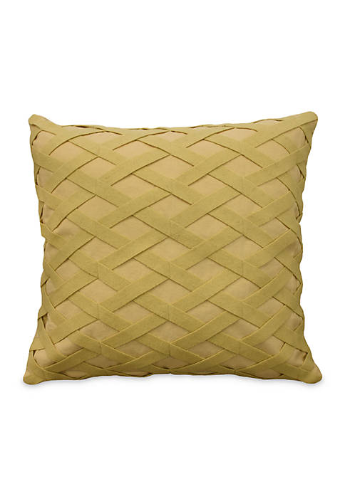 Sanctuary Rose Square Decorative Accessory Pillow 18-in. x