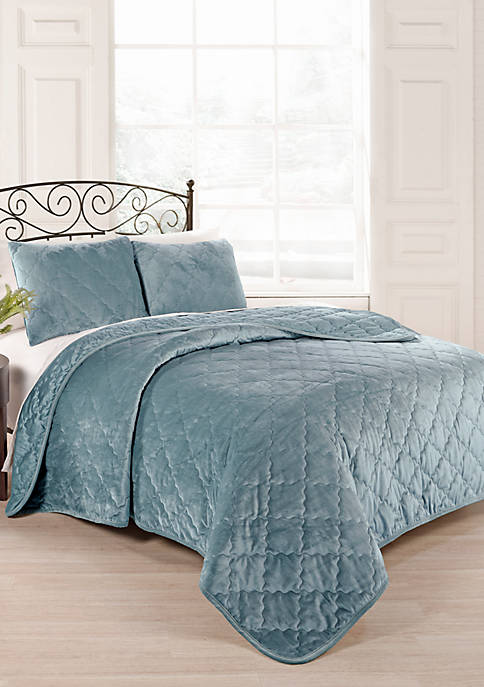 Beautyrest Collette Coverlet Set