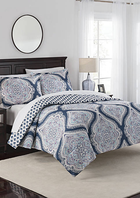 Marble Hill Lotus Comforter Set