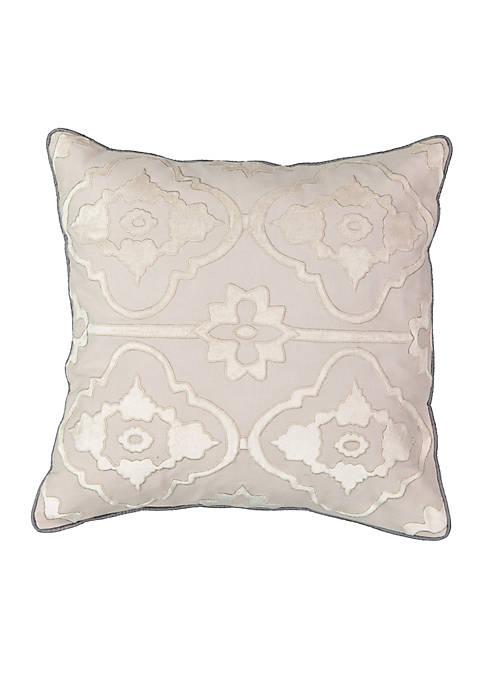 Beautyrest La Salle Applique Decorative Pillow