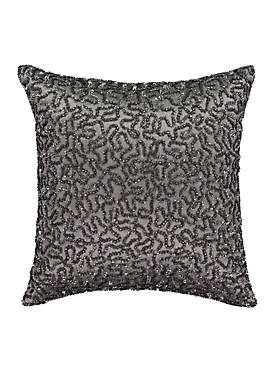 La Salle Sequin Decorative Pillow