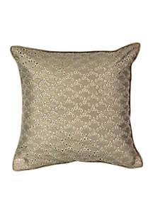 Sandrine Eyelet Decorative Pillow
