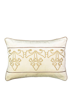 Sandrine Embroidered Decorative Pillow