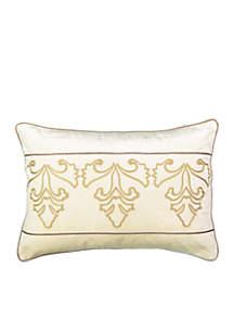 Sandrine Embroidered Decorative Pillow