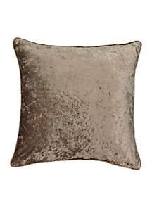 Sandrine Faux Velvet Decorative Pillow