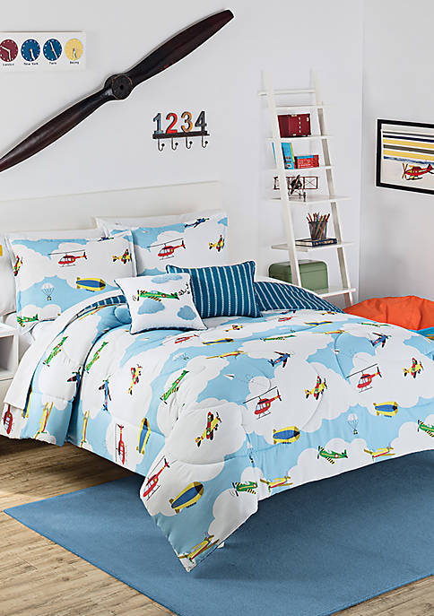 In the Clouds Comforter Set