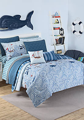 Ride the Waves Comforter Set