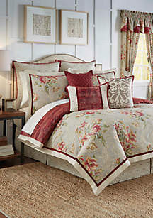 Fresco Flourish Four-Piece Reversible Bedding Collection