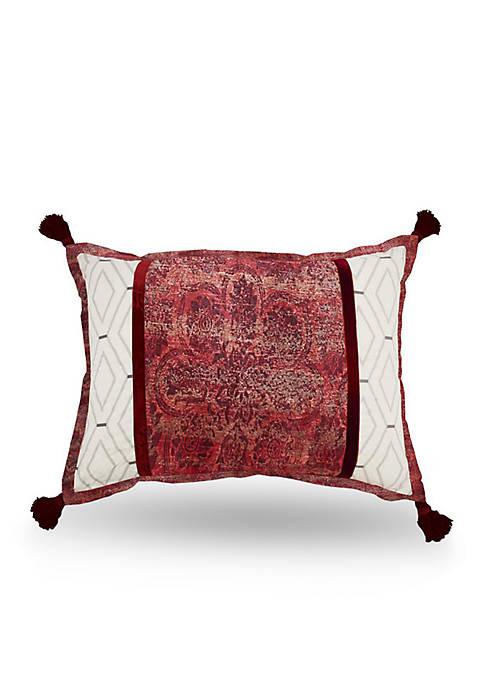 Waverly Fresco Flourish Pieced Decorative Accessory Pillow View 1 variant