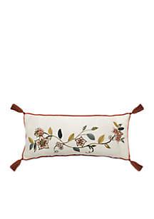 Brighton Blossom Embroirdered Decorative Pillow
