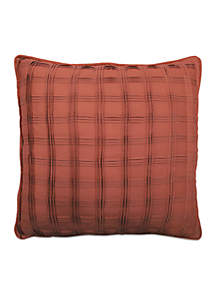 Brighton Blossom Pintucked Decorative Pillow