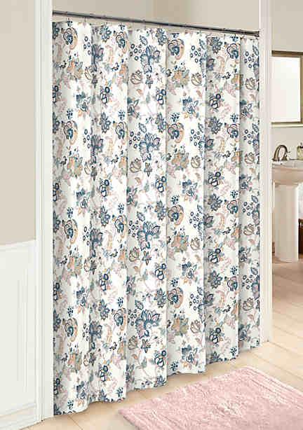 Shower Curtains & Bath Liners   Unique Shower Curtains   belk