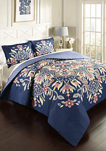 Floral Fantasy 3-Piece Comforter Set